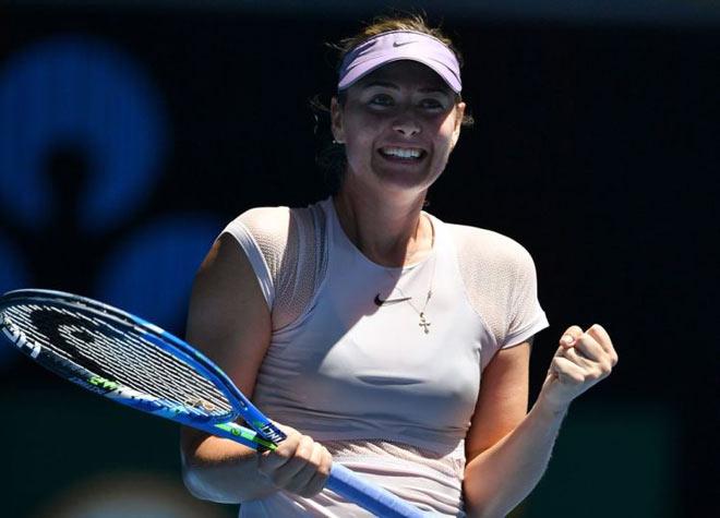 Cập nhật Indian Wells ngày 1: Mỹ nhân Sharapova và bản sao ra trận 1