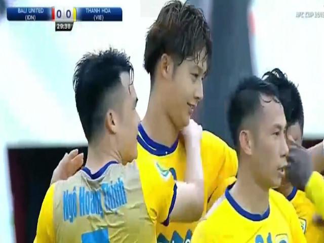 """Thanh Hóa thua đau: Tiến Dũng """"nhập"""" thủ môn CLB Indonesia, fan nữ nức nở 2"""