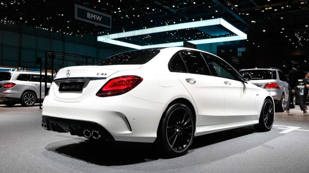 Mercedes-AMG C43 2019 sẽ có giá bán rẻ hơn C63 AMG - 3