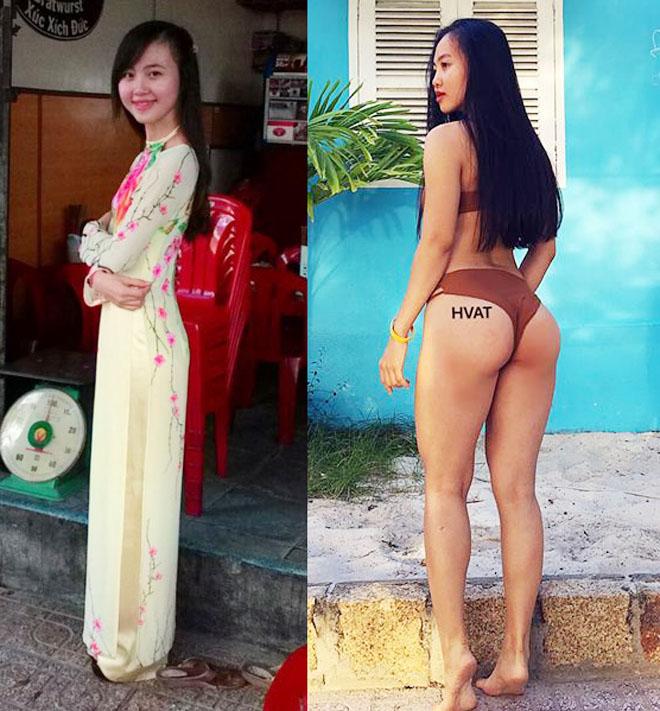 Cô gái Nha Trang nhà nghèo đổi đời sau khi sở hữu số đo 83-55-95 cm