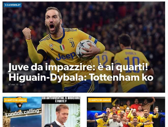 Tottenham - Juventus ngược dòng 3 phút: Báo Anh ngã ngửa, người Ý khó tin 2