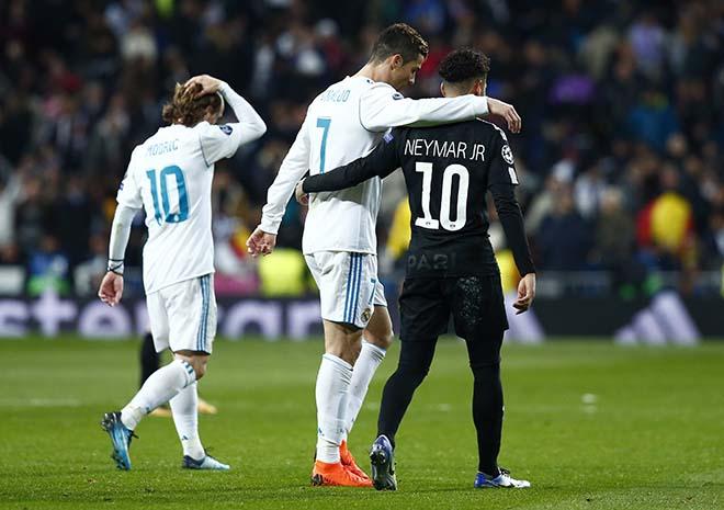 """Neymar - Kane bị loại cúp C1: """"Vua"""" Ronaldo độc chiếm, Messi """"xa vạn dặm"""" 2"""