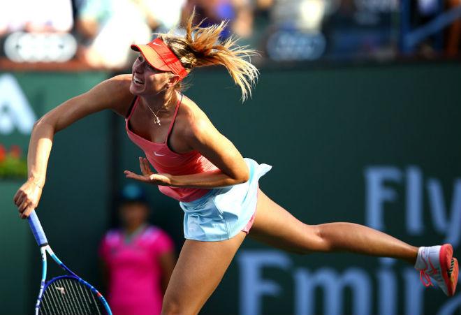 Sharapova - Osaka: Giằng co mệt nhoài, chiến thắng như mơ (Vòng 1 Indian Wells) 6