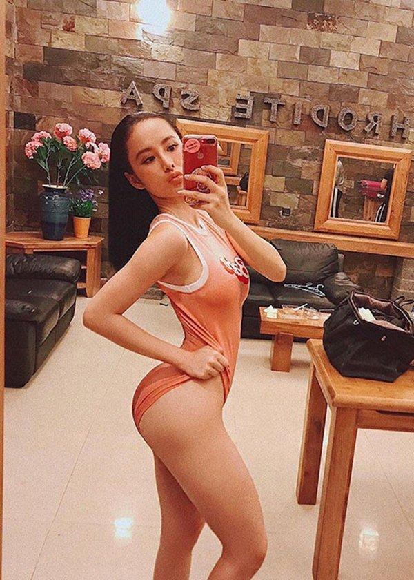 Minh Tú đăng video tập hông đúng, đá xéo Angela Phương Trinh? - 4
