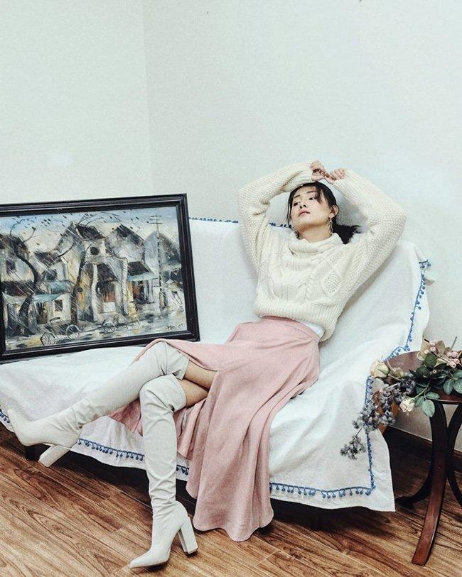 """MC Quỳnh Chi đài VTV:""""Tôi tự tin với vòng 1 của mình"""" - 2"""