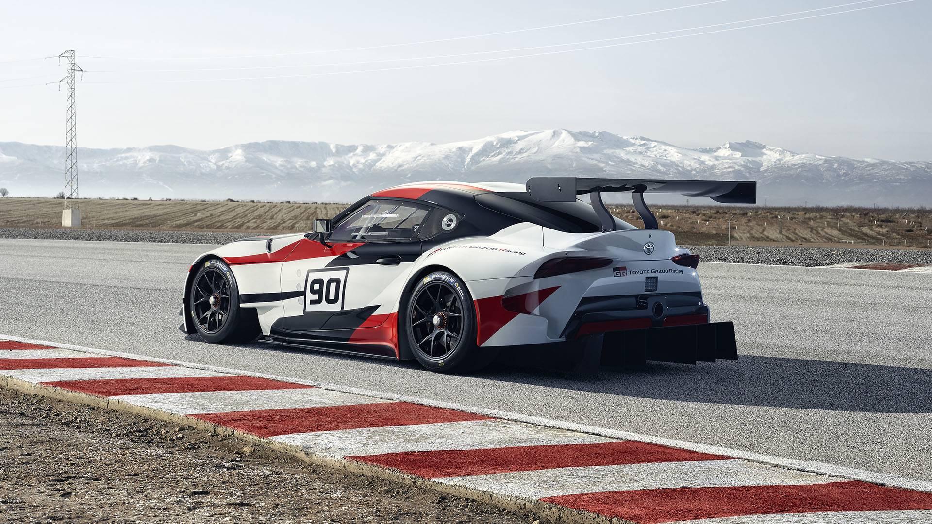 Toyota ra mắt xe đua GR Supra Racing Concept - 1