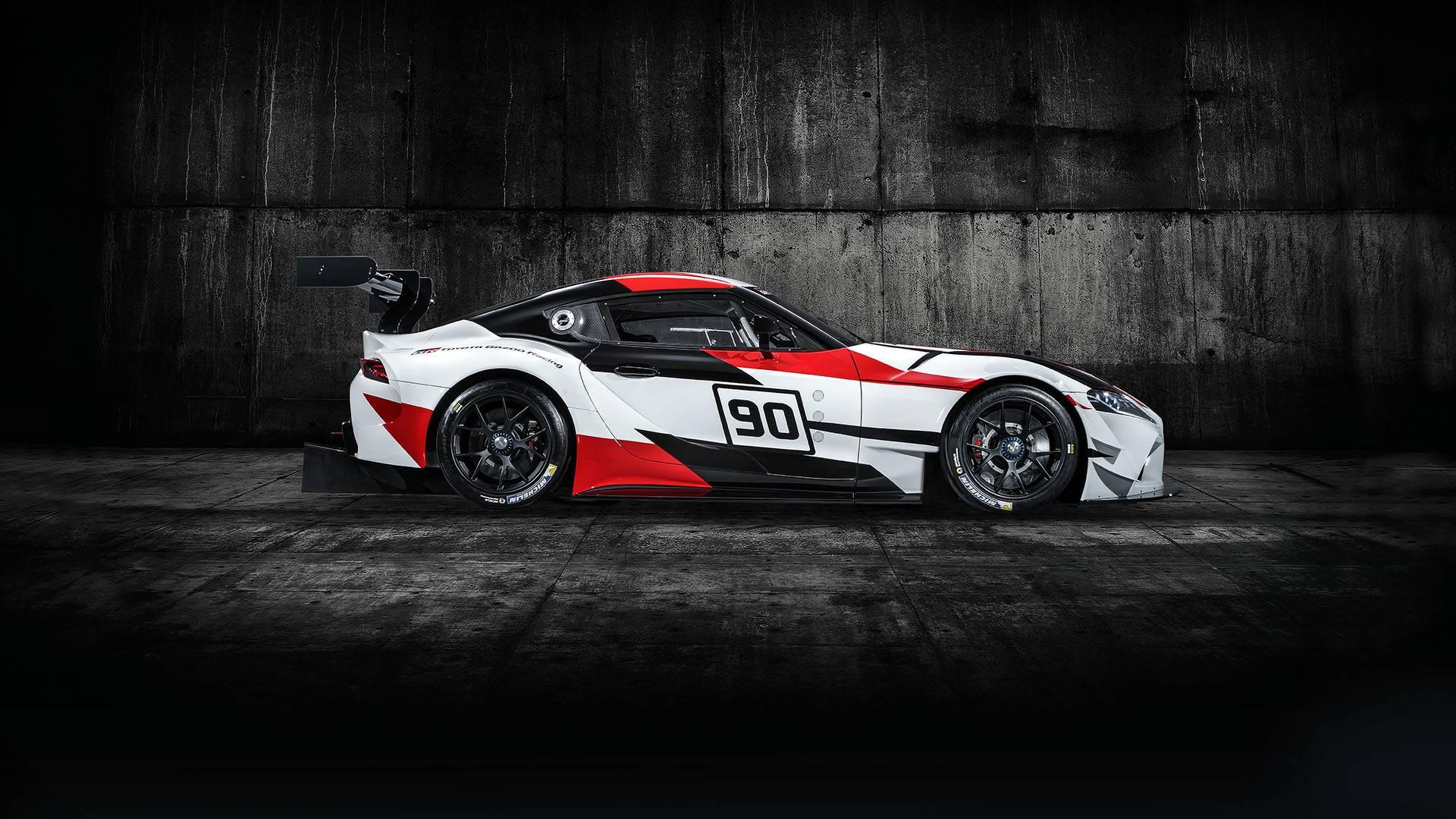 Toyota ra mắt xe đua GR Supra Racing Concept - 2