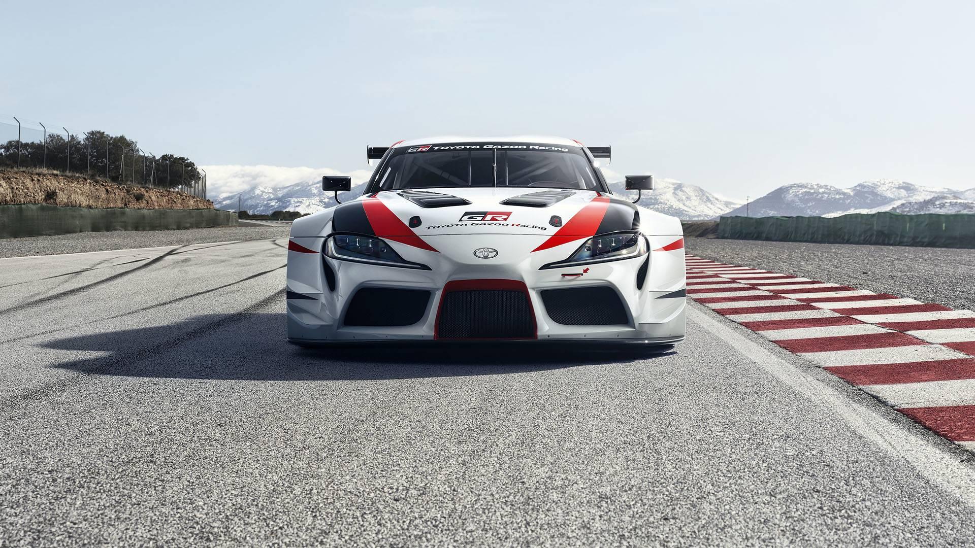 Toyota ra mắt xe đua GR Supra Racing Concept - 3