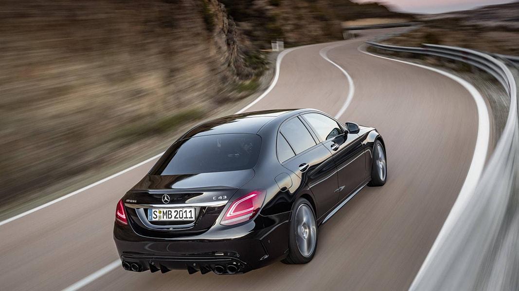 Ngắm nhìn Mercedes-Benz C43 AMG 201 trình làng trước ngày ra mắt - 6