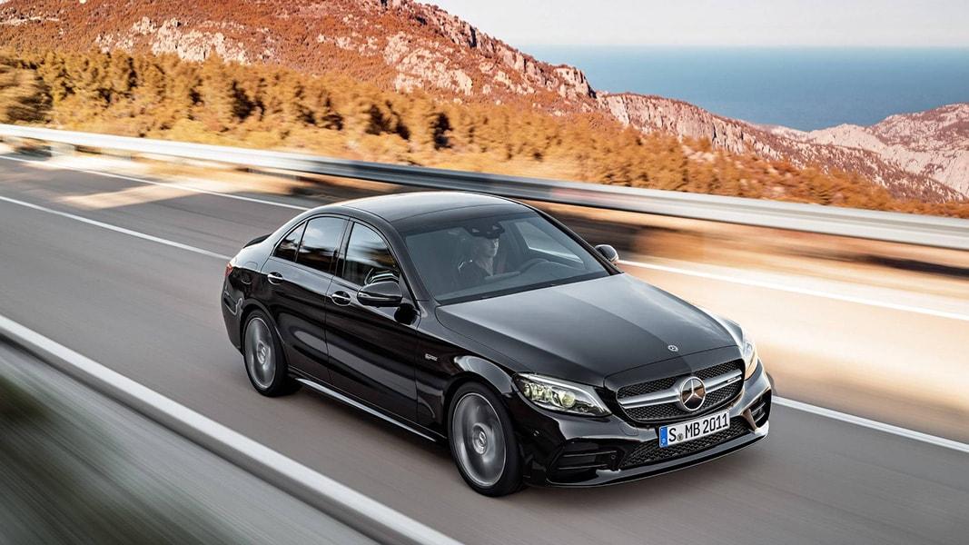 Ngắm nhìn Mercedes-Benz C43 AMG 201 trình làng trước ngày ra mắt - 4