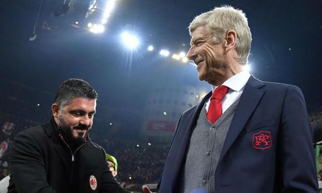 """Arsenal hạ đẹp Milan: Wenger như thắng boxing, """"nổ"""" tưng bừng 2"""