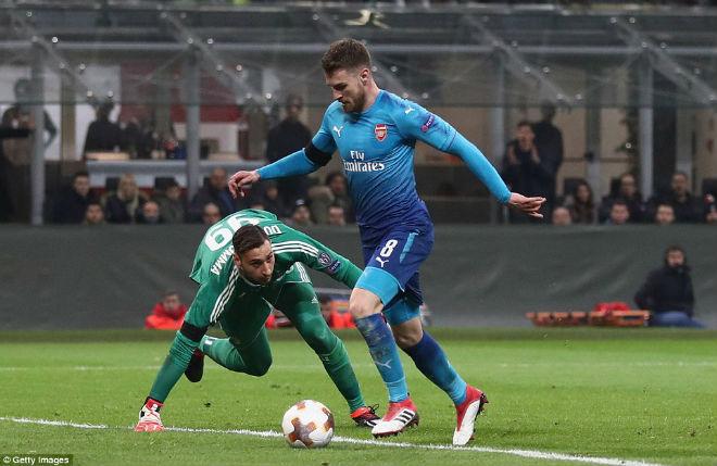 """Arsenal hạ đẹp Milan: Wenger như thắng boxing, """"nổ"""" tưng bừng 1"""