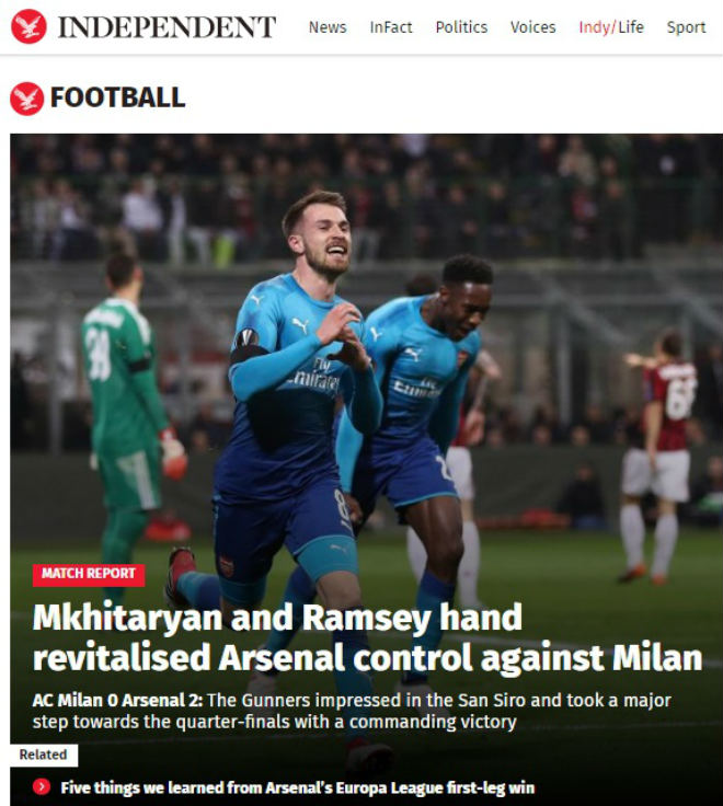 """Arsenal làm câm lặng AC Milan: Báo Anh ngỡ ngàng, fan """"khó xử"""" với Wenger 3"""