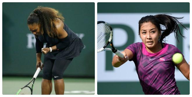 Serena - Diyas: Màn tái xuất của siêu tượng đài (Vòng 1 Indian Wells) 11