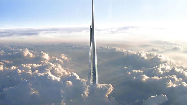 Tòa tháp là trung tâm của dự án phát triển có tên thành phố kinh tế Jeddah.