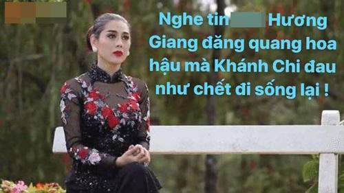 """Cư dân mạng bất ngờ """"réo tên"""" Lâm Chi Khanh khi Hương Giang đoạt hoa hậu - 5"""