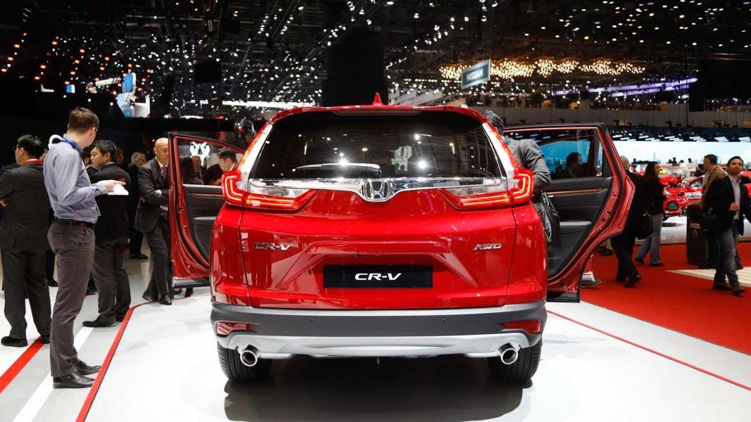 Đã mắt với Honda CR-V 2018 màu đỏ ấn tượng tại Geneva - 5