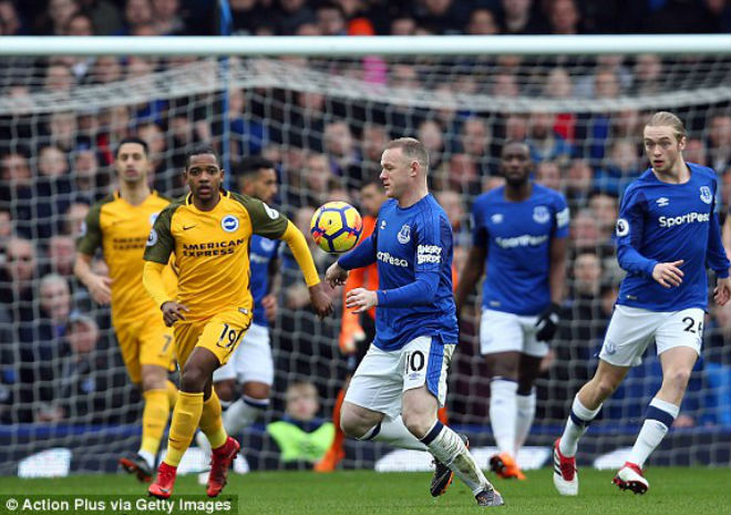 Everton - Brighton: Hiệp 2 xuất thần, Rooney lập kỷ lục buồn 1