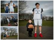 Thể thao - Nhất thế giới: 16 tuổi, 2m20 chơi bóng không địch thủ