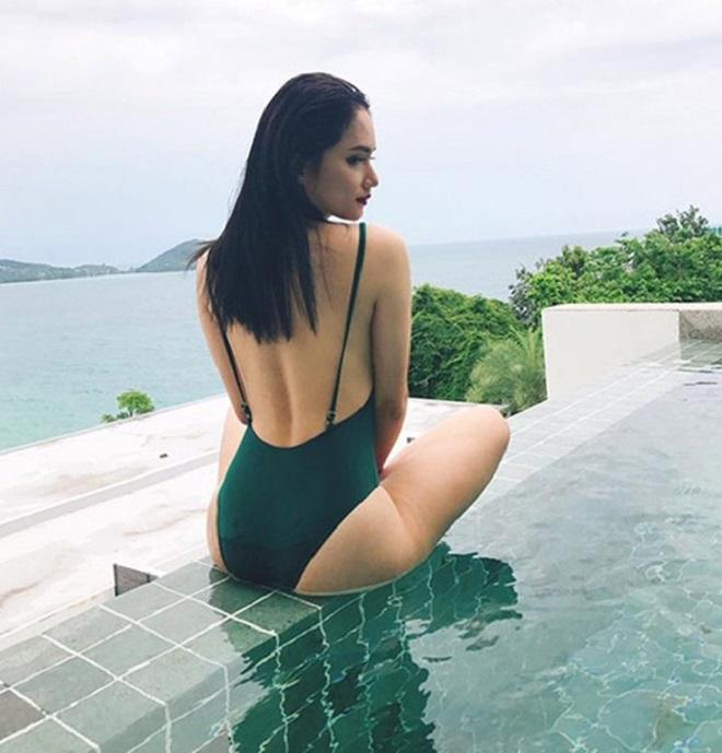 Ảnh áo tắm khoe đường cong nóng bỏng, nữ tính của Hương Giang - 8