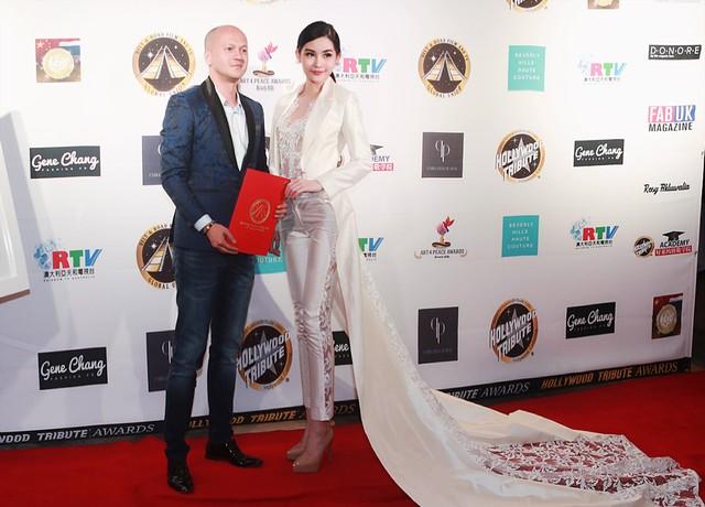 NTK Patrick Phạm được tôn vinh trong show diễn hậu Oscar 2018 - 2