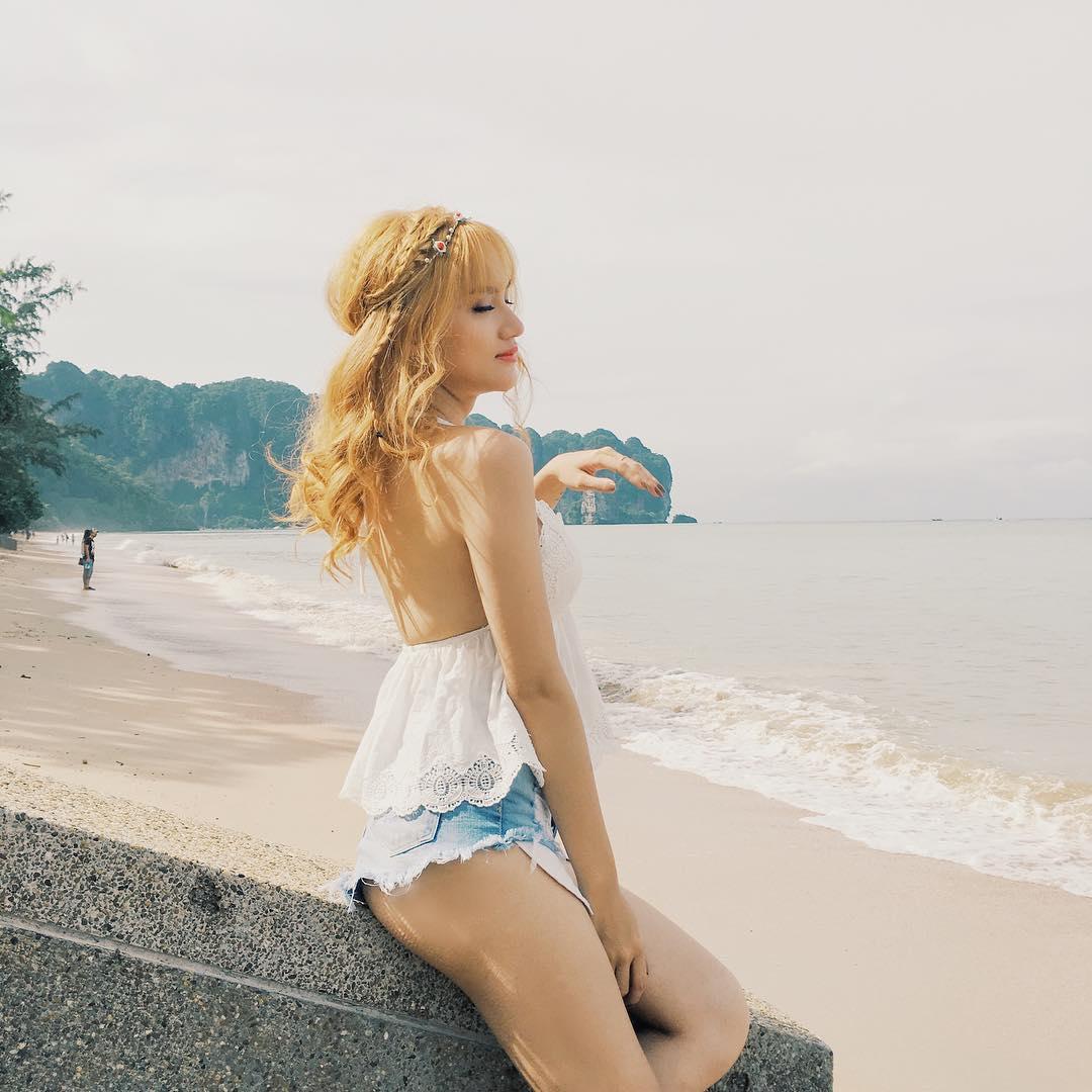 Gu thời trang một mất một còn, ngắn như đồ bơi của Hương Giang Idol - 7