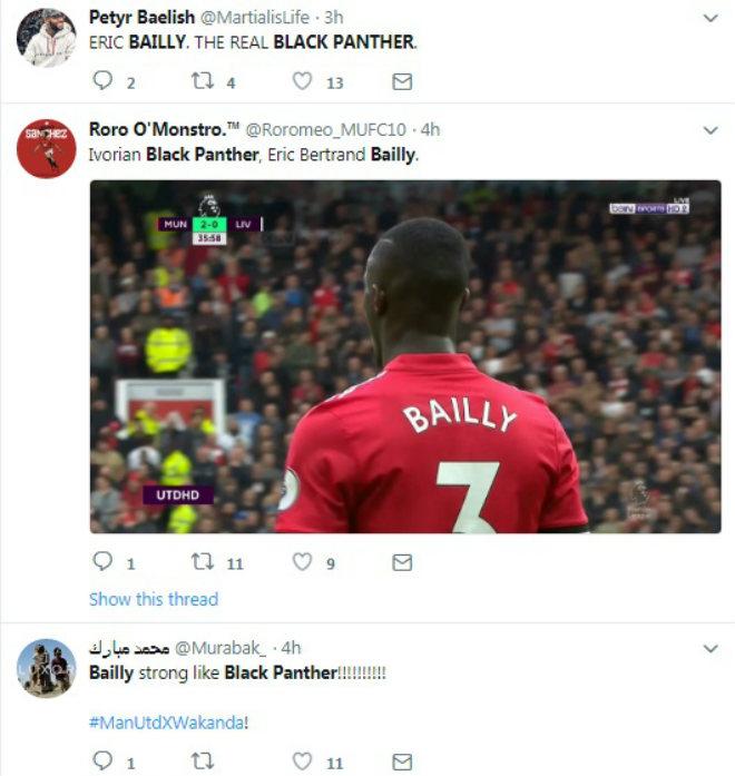 """Eric Bailly tội đồ hóa người hùng: Mourinho mắng yêu, fan ví với """"báo đen"""" 2"""