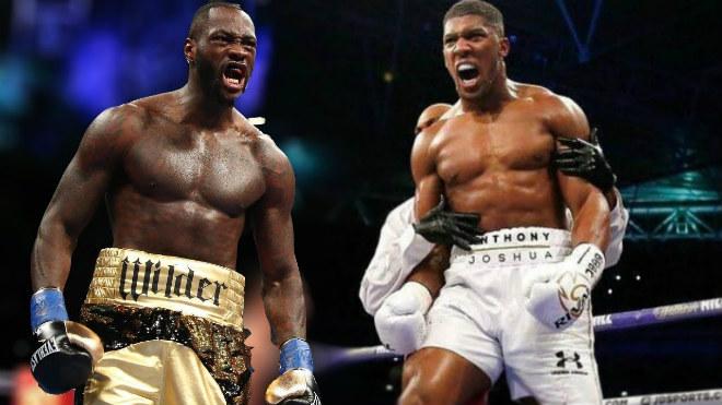 """Tin nóng võ thuật 11/3: Trận """"Vua boxing"""" Joshua đấu Wilder ước tính 250 triệu USD 1"""