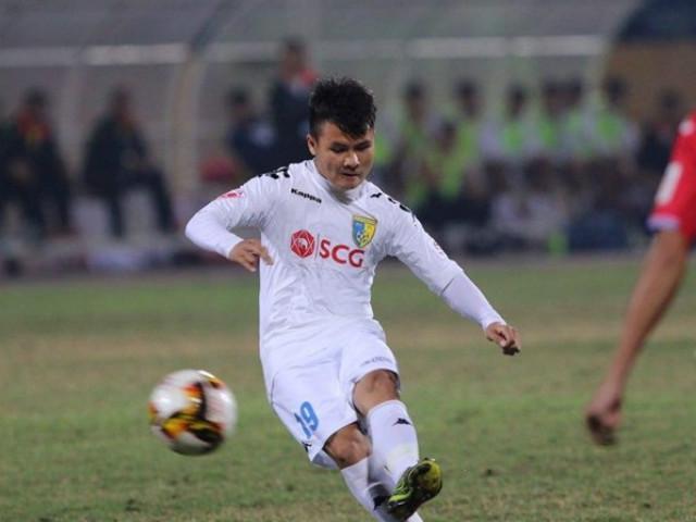 TRỰC TIẾP bóng đá Hà Nội - Hải Phòng: Quang Hải - Duy Mạnh đá chính 22