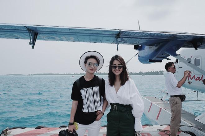 Bị chê vòng 1 kém nảy nở, MC Quỳnh Chi vẫn tự tin mặc bikini - 1