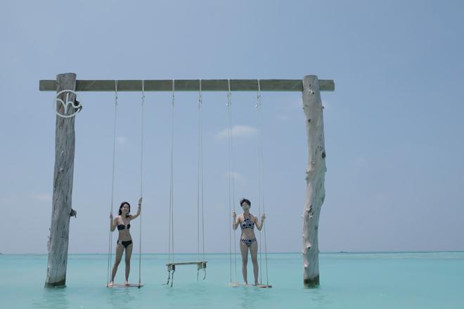 Bị chê vòng 1 kém nảy nở, MC Quỳnh Chi vẫn tự tin mặc bikini - 4