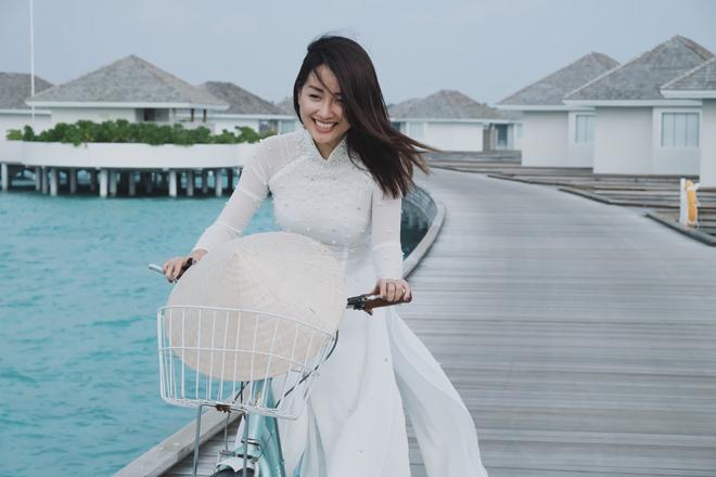 Bị chê vòng 1 kém nảy nở, MC Quỳnh Chi vẫn tự tin mặc bikini - 3