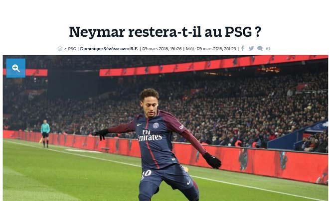 """PSG thay tướng mới, Neymar """"hết đường sống"""": Barca & Real vẫy gọi"""