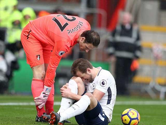 """Harry Kane chấn thương: Què quặt đá World Cup, """"ác mộng Rooney"""" hiện về 4"""