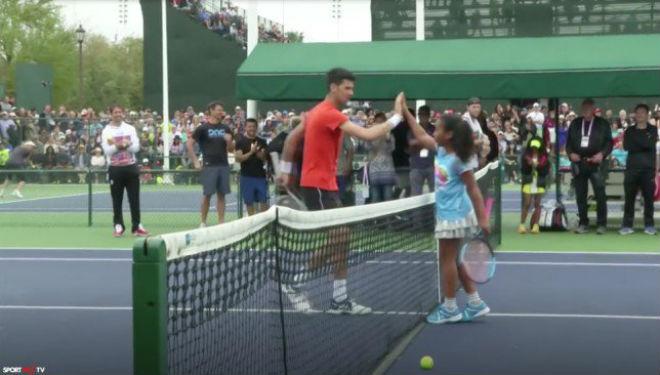 """Tin thể thao HOT 12/3: Djokovic """"so vợt"""" với con gái rượu của Mike Tyson 1"""