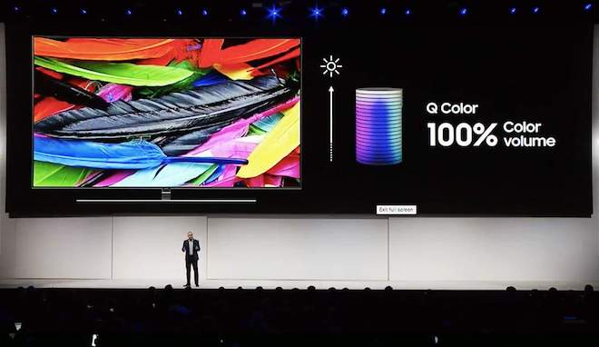 Samsung giới thiệu công nghệ màn hình