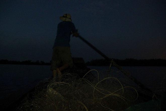 """Theo chân thợ săn cá """"khủng"""", từng 2 lần được lộc trời ban ở Sài Gòn - 15"""
