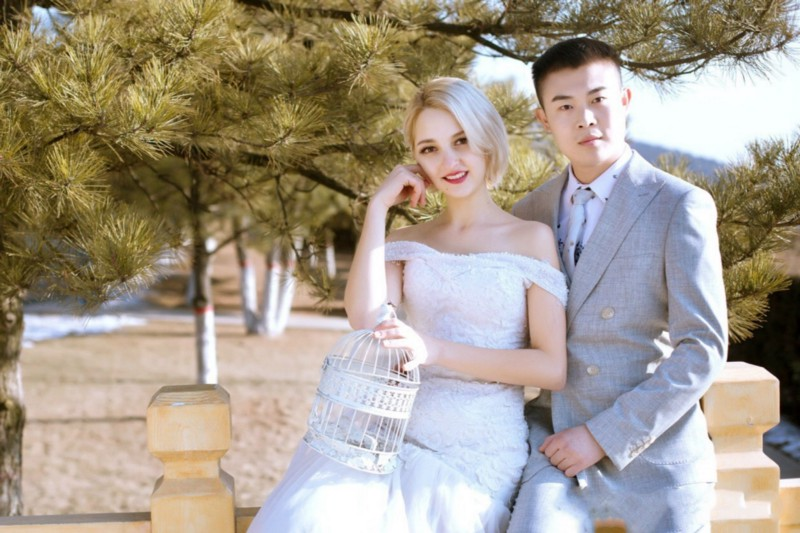 Người đàn ông TQ lấy vợ Ukraine đẹp,