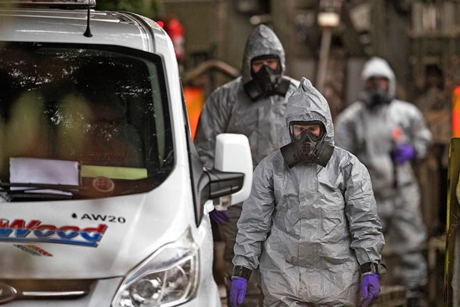 Chất độc thần kinh cực mạnh khiến điệp viên Nga sống dở chết dở - 2
