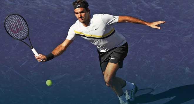 Federer - Krajinovic: 57 phút xây xẩm mặt mày (Vòng 3 Indian Wells)