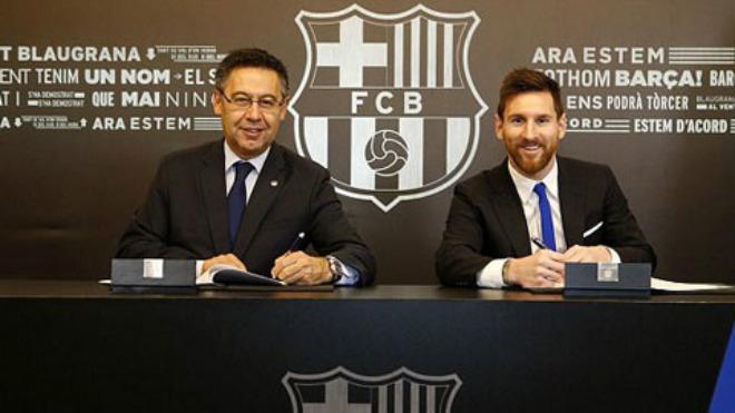"""Barca """"trói """" Messi: 700 triệu euro chỉ là """"muỗi"""" với MU, PSG chờ """"Neymar 2.0"""" 1"""