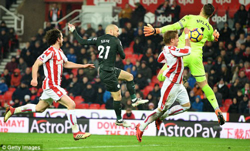 Chi tiết Stoke City - Man City: Không có bàn danh dự (KT) 22