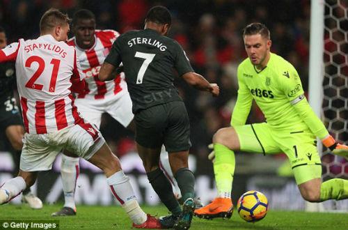 Chi tiết Stoke City - Man City: Không có bàn danh dự (KT) 23