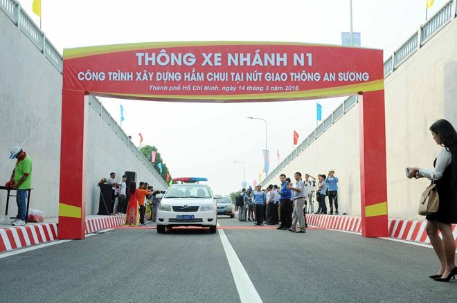 """Hầm chui 500 tỷ xóa nút giao thông """"nuốt người"""" ở Sài Gòn"""