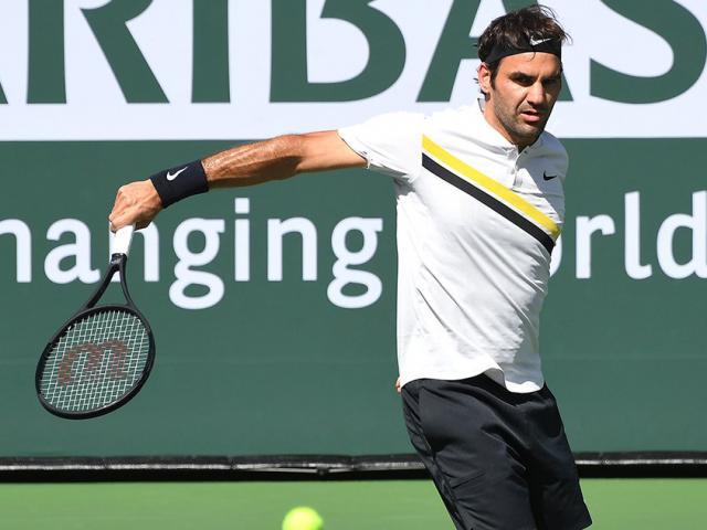 Indian Wells: Vua Federer chắc ngôi số 1, siêu kỉ lục vẫy gọi 2