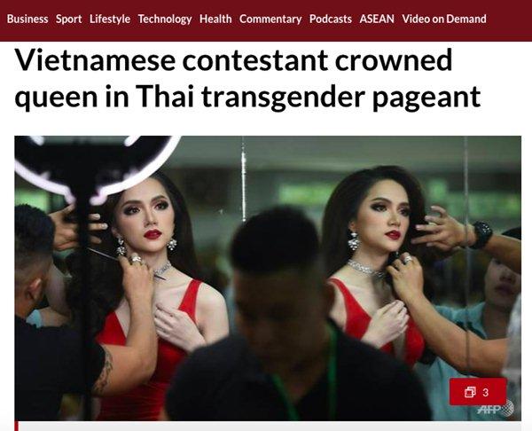 Truyền thông các nước đưa tin về hoa hậu Hương Giang - 6
