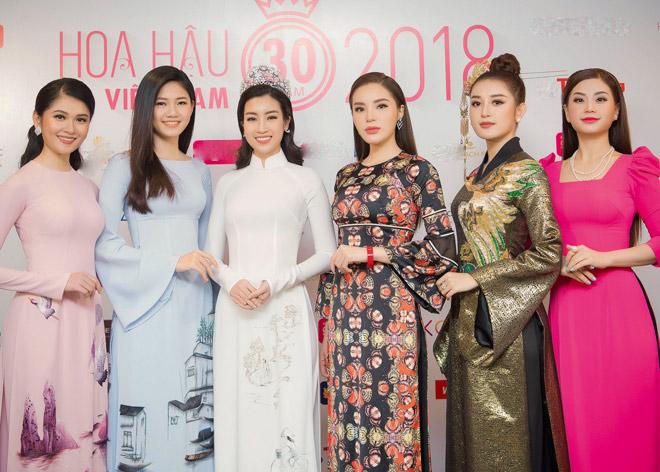 Huyền My thần thái sang chảnh tại sự kiện Hoa Hậu Việt nam 2018 - 12