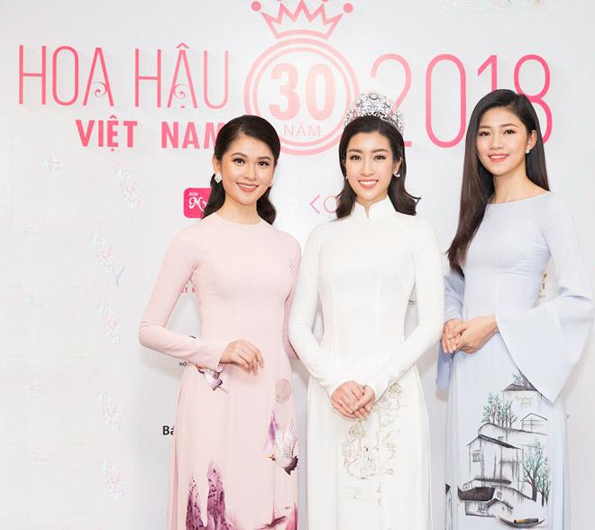 Huyền My thần thái sang chảnh tại sự kiện Hoa Hậu Việt nam 2018 - 11