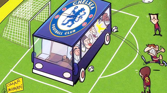 """Chelsea dựng """"pháo đài"""" ở Nou Camp: """"Ma pháp"""" Conte đấu Messi 1"""