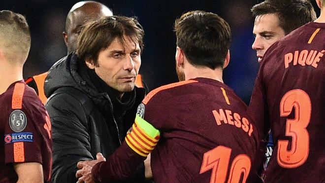 """Chelsea dựng """"pháo đài"""" ở Nou Camp: """"Ma pháp"""" Conte đấu Messi 2"""